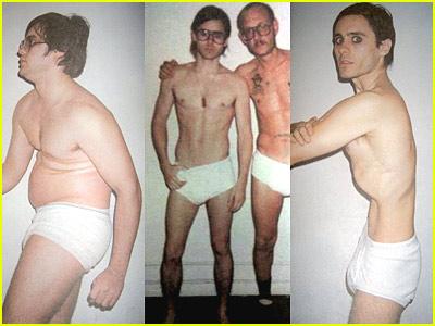 13. Jared Leto engordó 30 kilos para Chapter 27 (El asesino de Lennon) a base de pizza y pastas (ya que es vegetariano) a las que les agregaba salsa de soja y aceite de oliva para hacerlas más calóricas