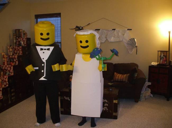 2. Legos recién casados