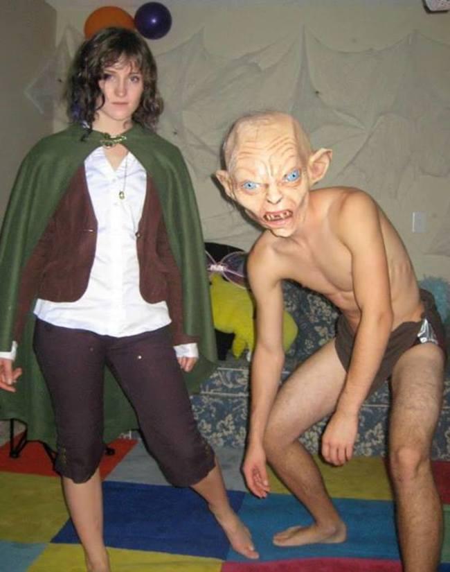 7. Frodo y Gollum
