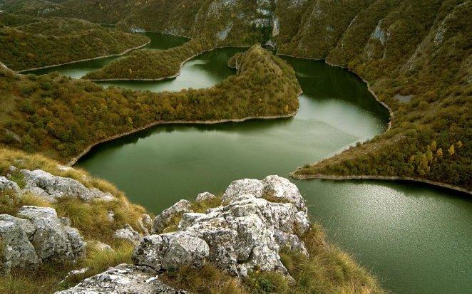28. Rio Uvac, Serbia