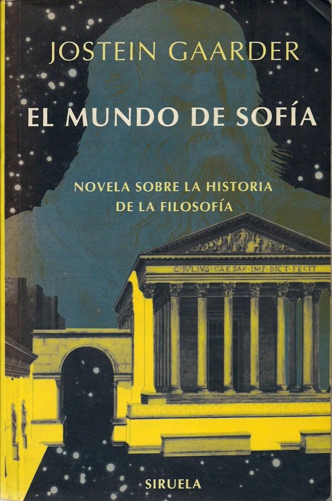 3. El mundo de Sofía, Jostein Gaarder