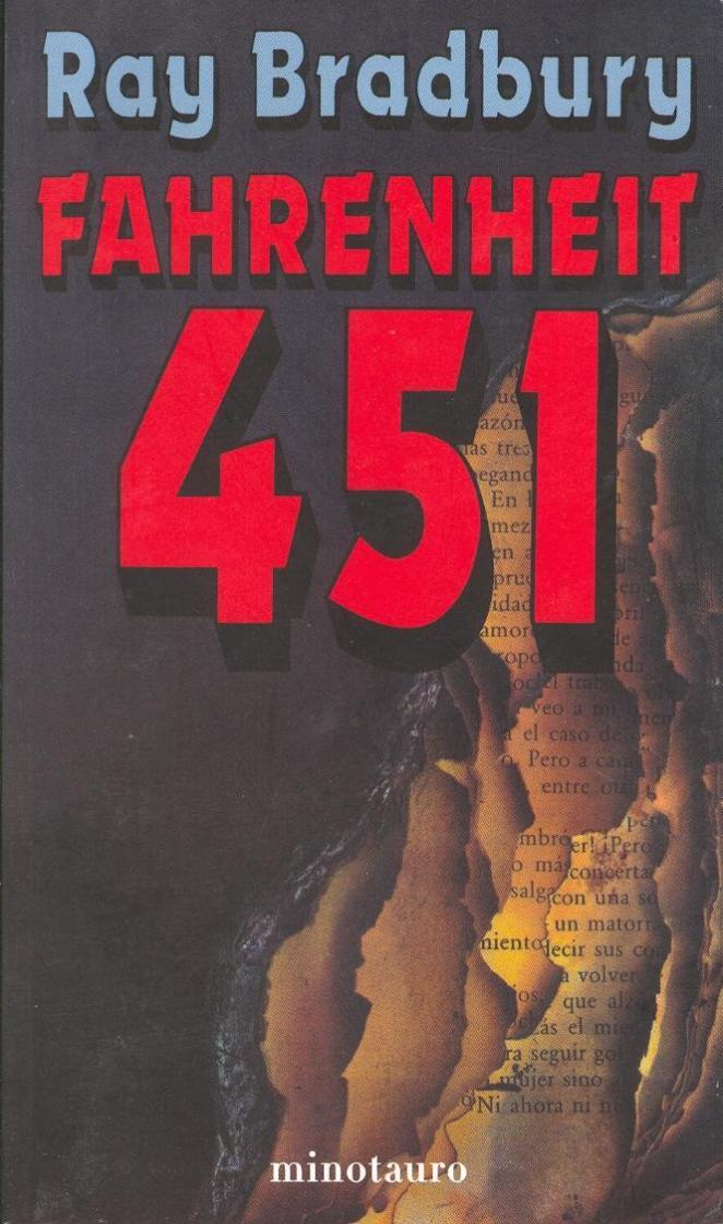 4. Fahrenheit 451, Ray Bradbury
