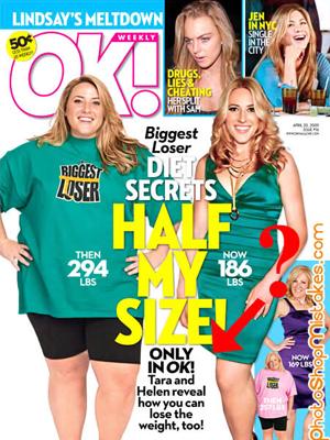 12. Ella entró en un programa para perder peso pero no sabía que para hacerlo iba a tener que perder una pierna.