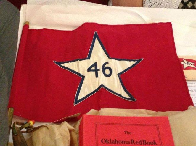 2. Bandera del Estado de Oklahoma