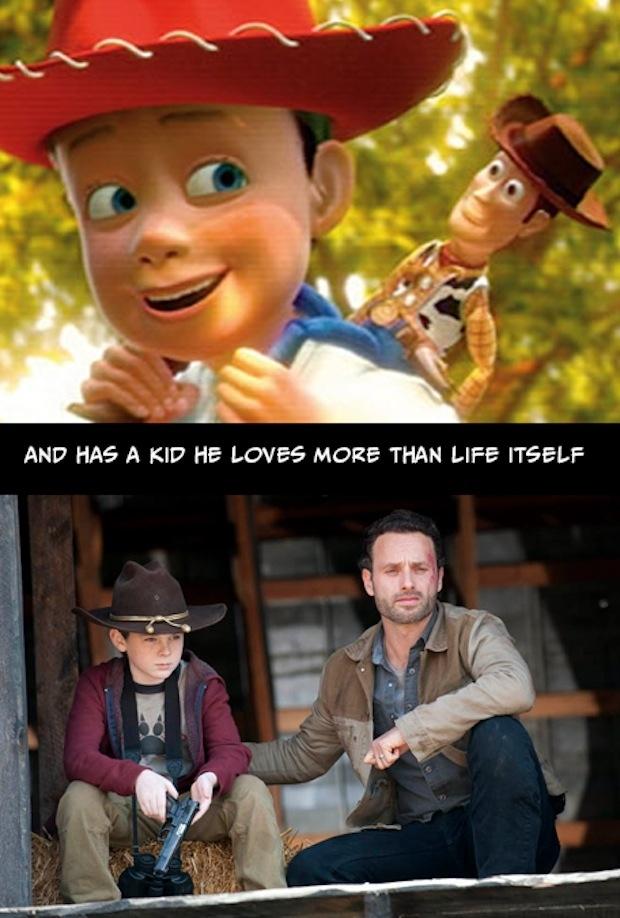 3. Y tiene un niño que ama más que a su propia vida.