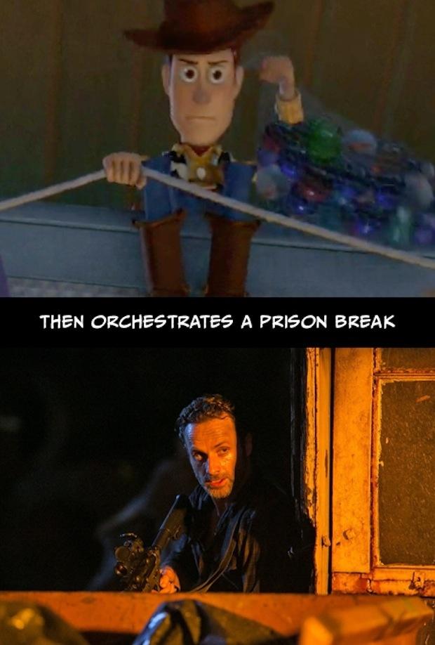 21. Y orquesta un plan para escaparse de esa prisión.