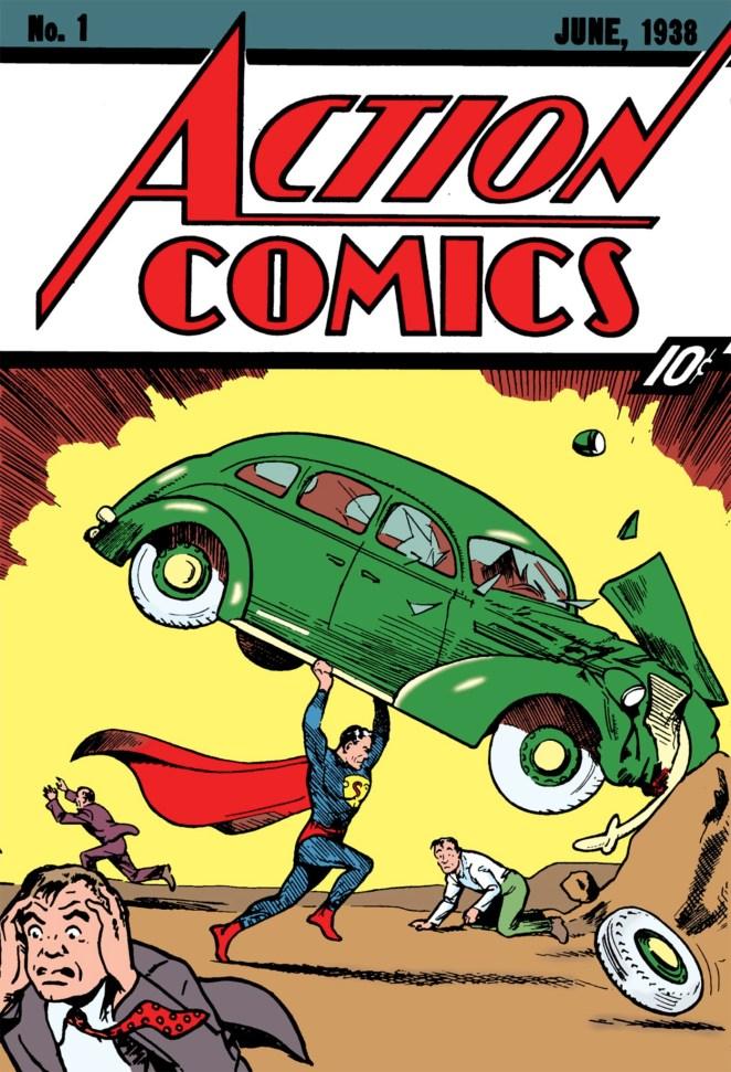 2. El cómic donde apareció Superman por primera vez