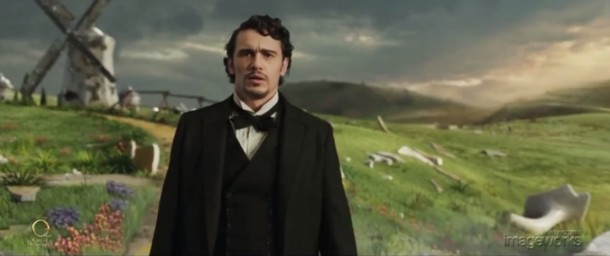 9. En Oz el poderoso, James Franco viaja a la tierra de Oz