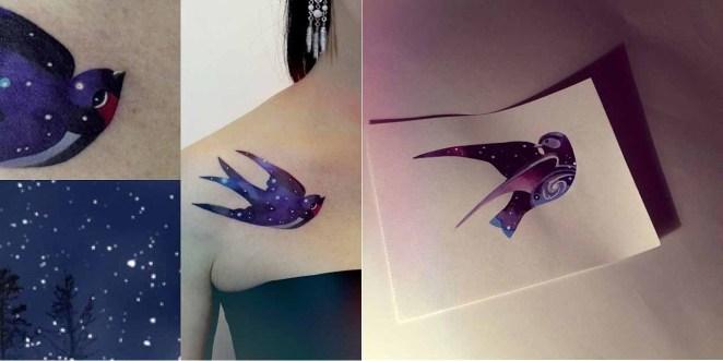 Ella puede tatuar dos veces el mismo animal, pero nunca va a hacer dos tatuajes iguales.