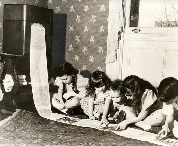 2. Una máquina que faxeaba periódicos completos