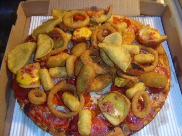 1. Pizza de rabas