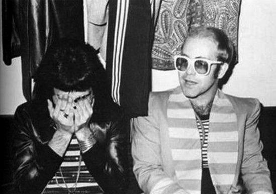 5. Freddie Mercury y Elton John