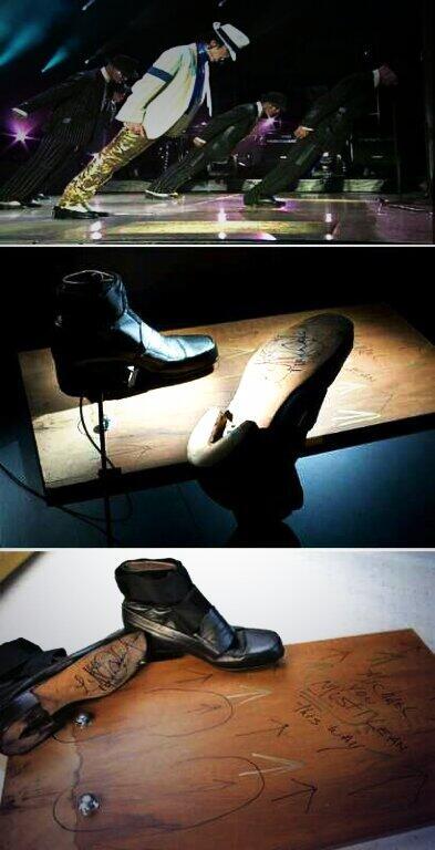 22. Los mágicos zapatos de Michael Jackson