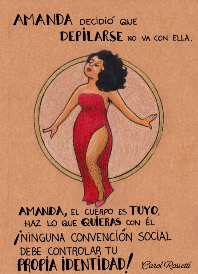 La artista brasilera Carol Rossetti creó una serie de ilustraciones sobre mujeres