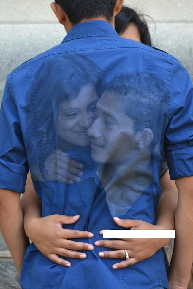 11. Esperemos que esa camisa no destiña sino, ¡chau amor!