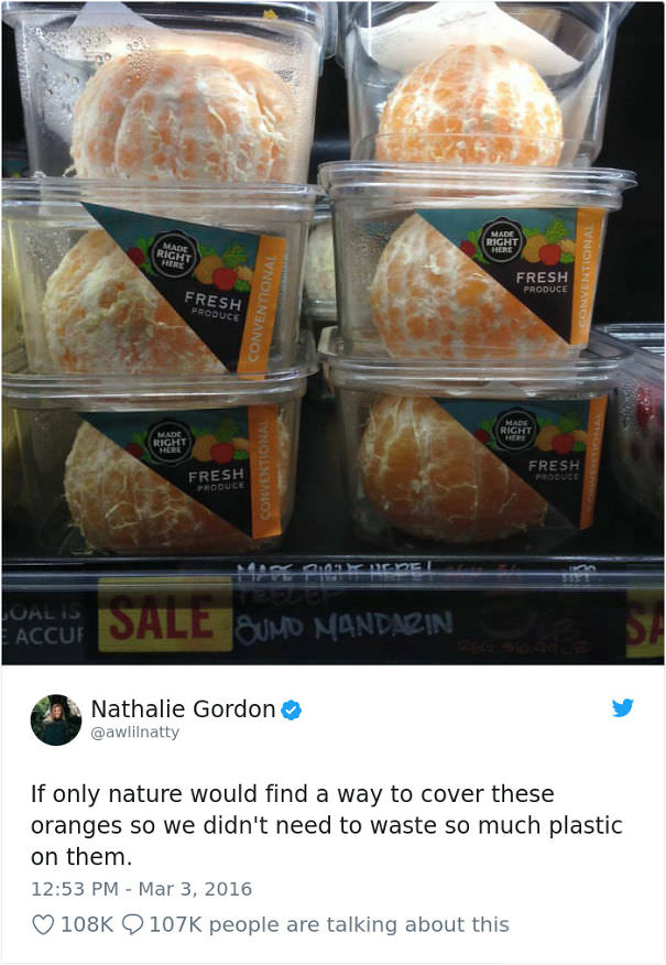 If Only Nature Would Find A Way To Cover These Oranges So We Didn