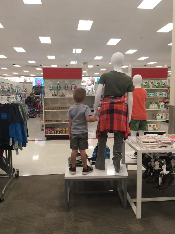 Lost My Kid In Target... Found Him Here