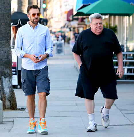 4. Jason Sudeikis (SNL, ¿Quién *&$%! son los Miller?) es sobrino de George Wendt (Cheers).