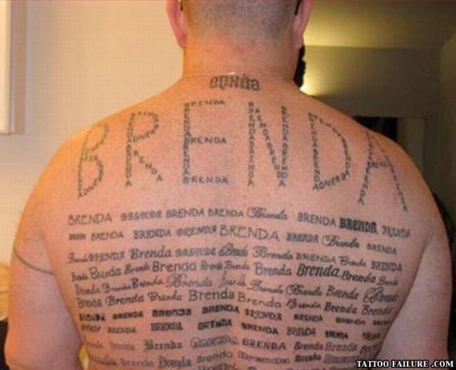 8. Espero que Brenda no lo haya dejado...