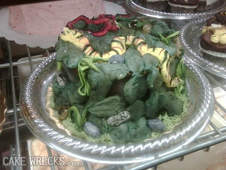 La torta mohosa