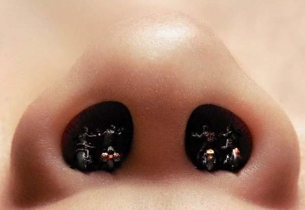 12. 15% del aire que se respira en un metro promedio, es de piel humana.