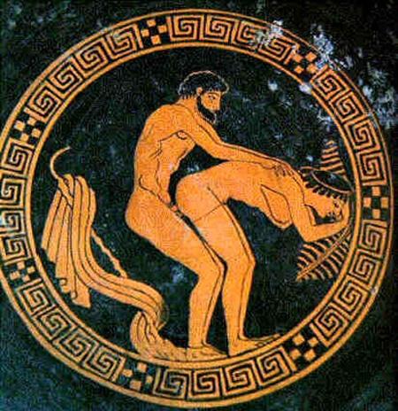 7. Grecia antigua: donde la homosexualidad estaba completamente fuera del armario.