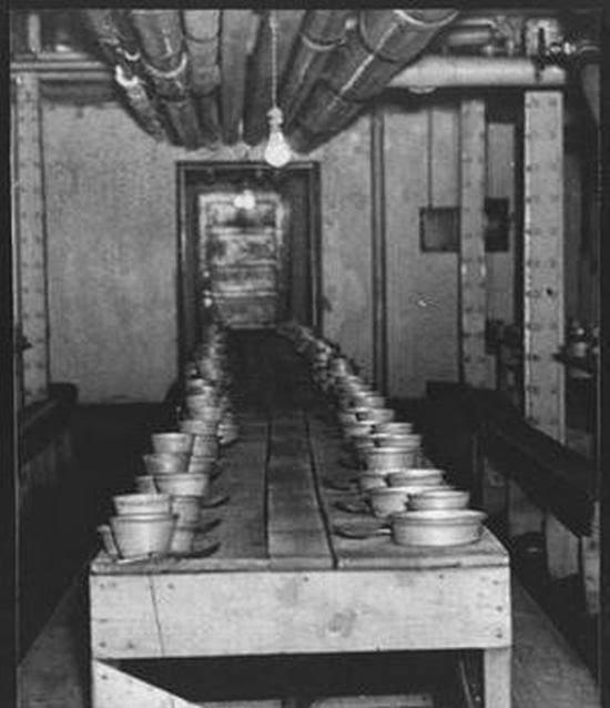 9. Comedor en el sótano.
