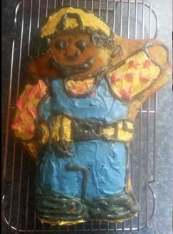 No, ya no tiene arreglo esa torta, tirenla