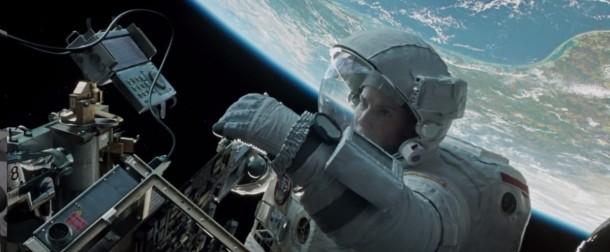 2. Sandra Bullock en el espacio (Gravity)