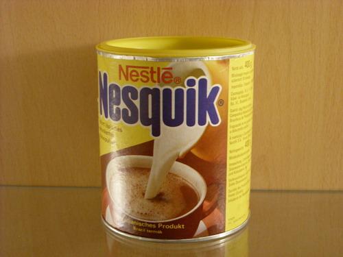Y esas meriendas siempre contaban con una buena taza de Nesquik