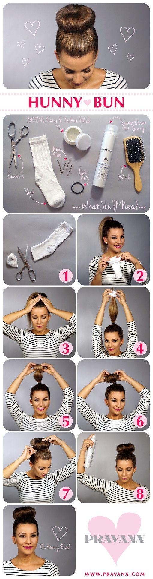 16. Si tenés poco tiempo, pero querés hacerte un rodete muy prolijo, podés probar este tutorial: