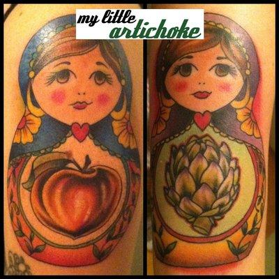 8. La Alcachofschka