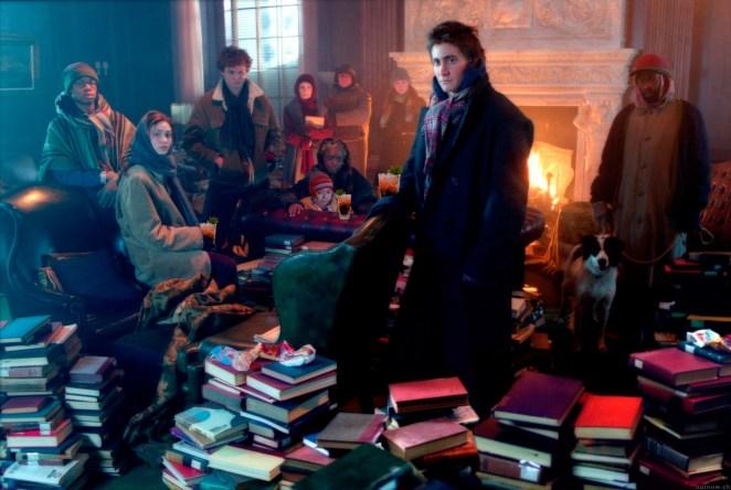 7. Cuando en El día después de mañana sólo queda quemar libros e intentar sobrevivir