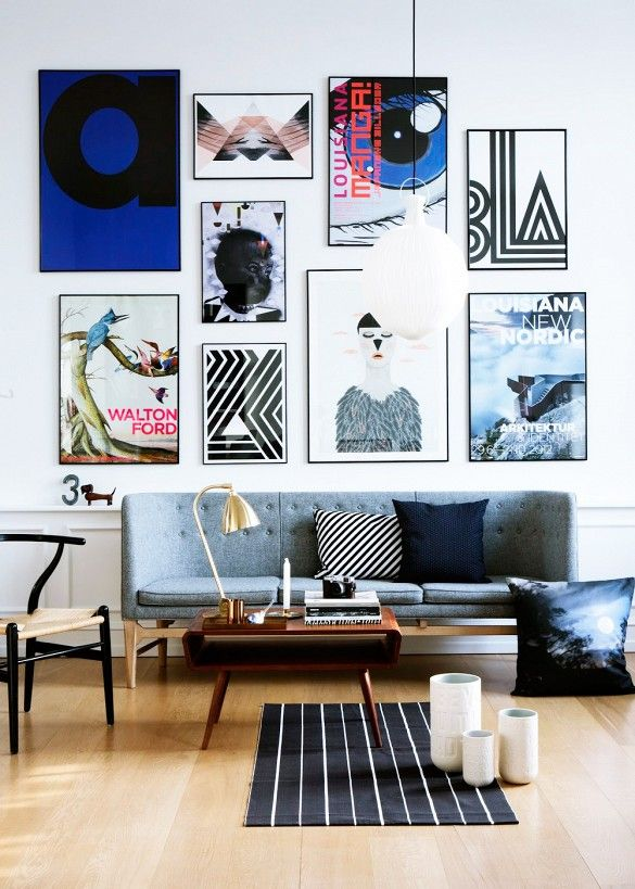 1. Tus paredes, tus estantes y cualquier rincón de tu casa es ideal para para llenar de objetos artísticos.