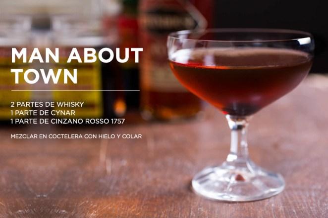 13. Man about town: vas a quedar como un bartender experto con solo tres ingredientes.