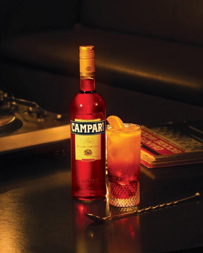 2. El Garibaldi, con Campari y jugo de naranja sanguina, simboliza la unión del norte y el sur de Italia