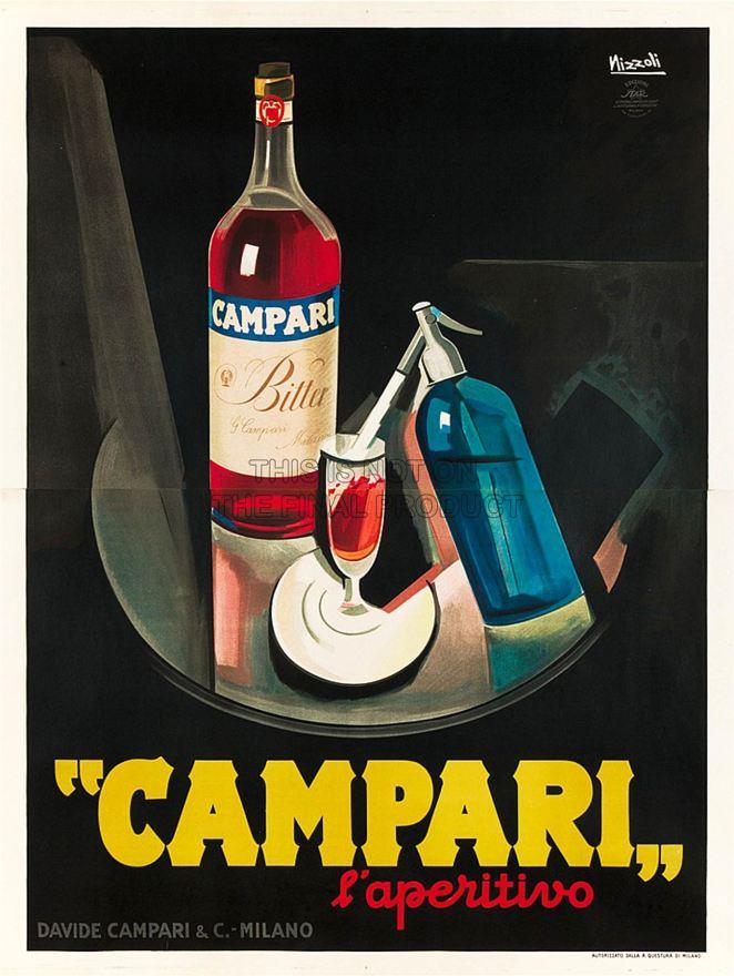 4. El Campari llegó a la Argentina en 1878, antes que al Reino Unido, España, Alemania y Estados Unidos