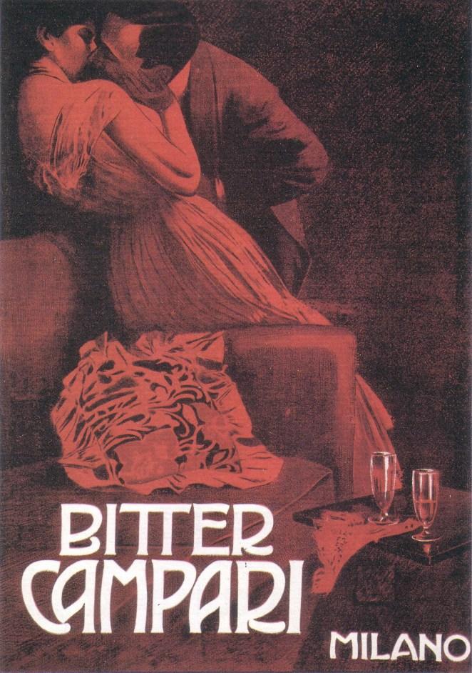 5. La colaboración de los artistas de principios del siglo XX en las gráficas de Campari fue clave en la identidad de la marca
