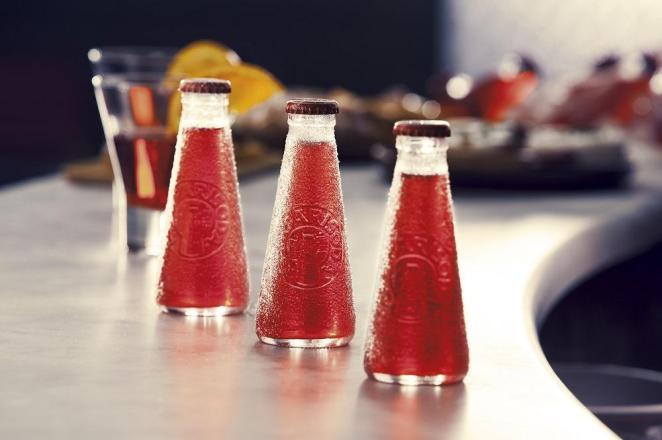 8. En Italia se venden botellitas de Campari Soda