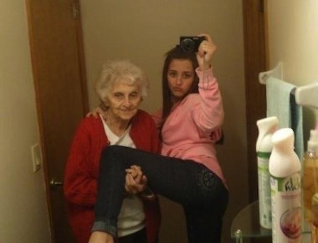 5. O con abuelas