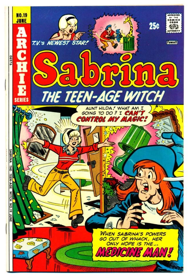 Resultado de imagen para sabrina the teen-age witch comic
