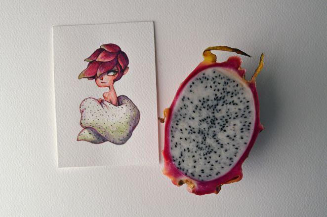 An Alluring Dragon Fruit