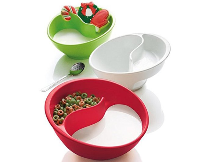 A cereal bowl that will never make your cereal soggy