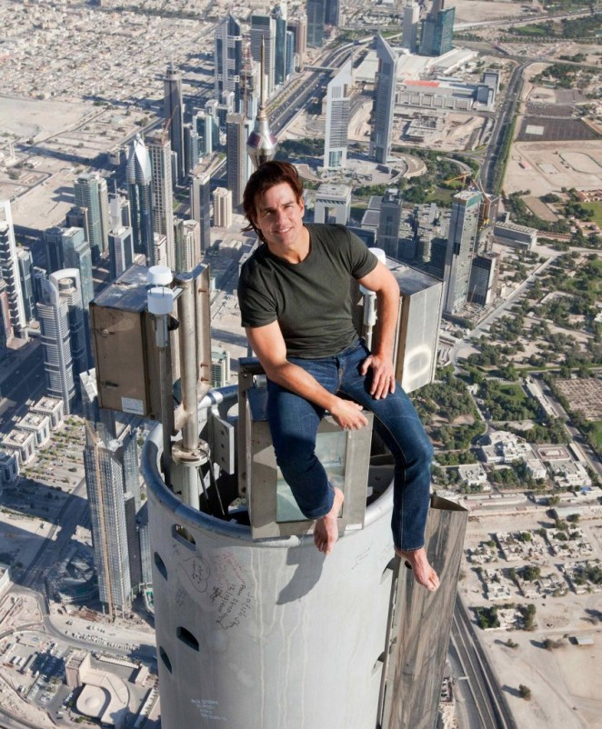 Resultado de imagen para tom cruise burj khalifa