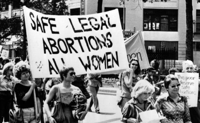 Resultado de imagen para women protest signs vintage abortion