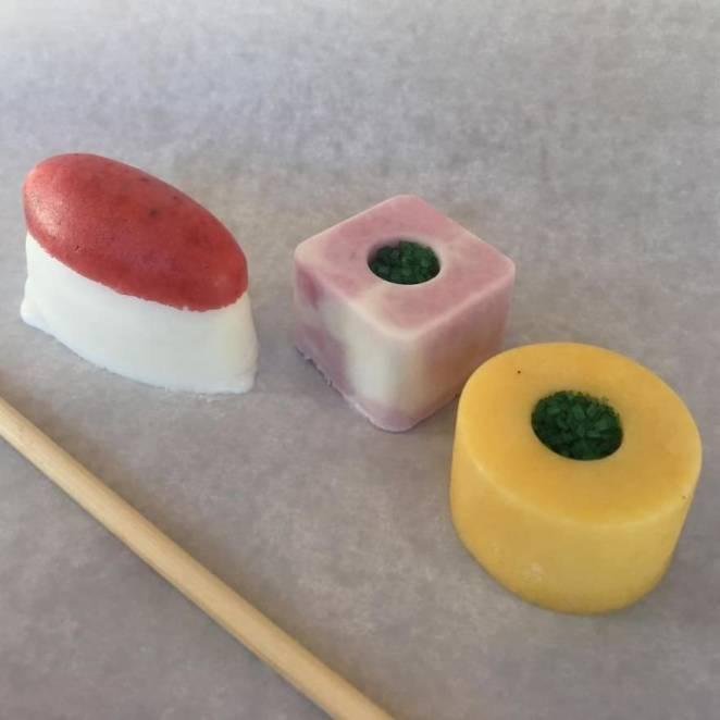 Chopstick ice cream gelato
