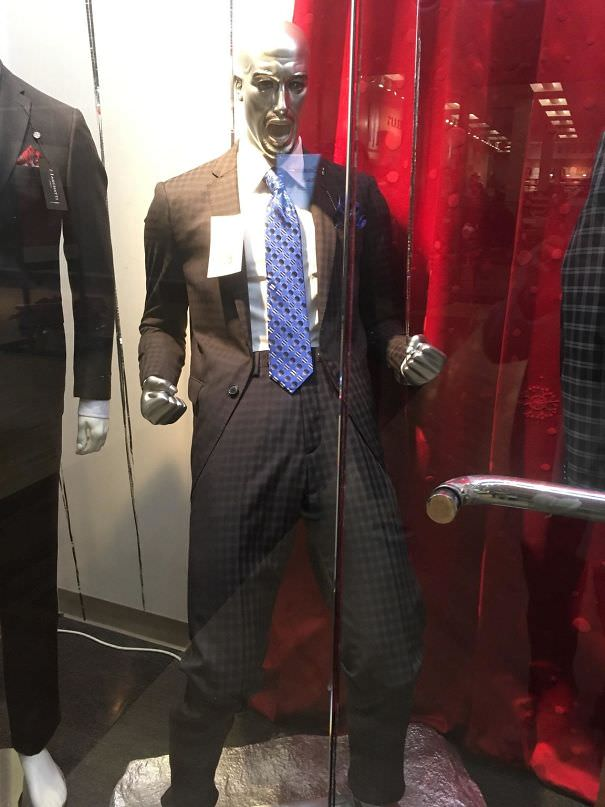 This Rather Enthusiastic Mannequin