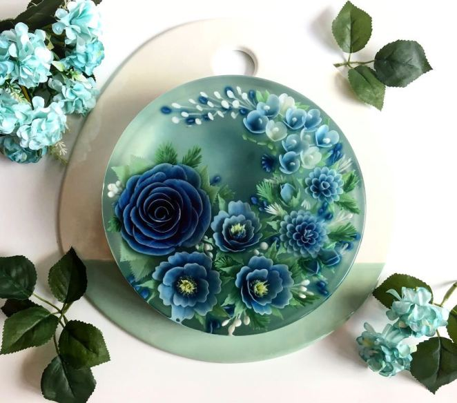 Crafted For A Food Blogging Event Promoting Natural Blue Pea Flower