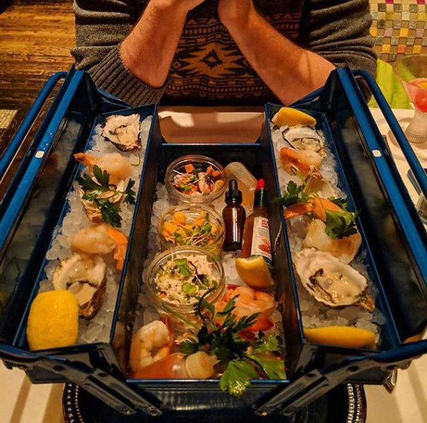 Food Looks Delicious... But A Toolbox?!