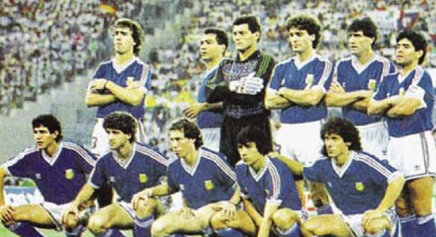 Image result for formacion argentina mundial 1990
